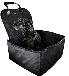 2 en 1 Funda de asiento de cangilón para mascota y Funda de asiento delantero para perro (17.7