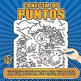 Conecta los puntos para niños de 4 a 8 años (Spanish Edition)