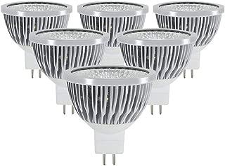 Drart Led Bulb Spotlights Cob Lamp MR16 12V Indoor Lights, 50W Replacement Halogen Bulbs White 5000K(6 Pack)
