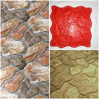 Sabina - Mat Stamp Texturing Skin Slate Pattern Stone Decorative Concrete Cement Imprint Texture Stamp Mat Polyurethane Stamping