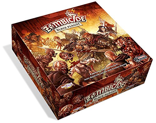 Cool Mini or Not! Zombicide Black Plague - Board Game - English
