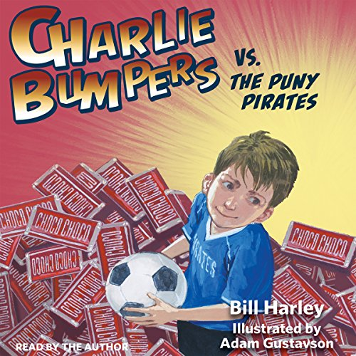 Charlie Bumpers vs. the Puny Pirates audiobook cover art