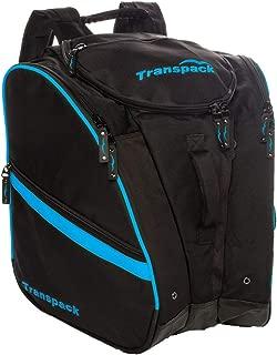 Transpack TRV Pro Ski Boot Bag 2017 Black Blue Electric