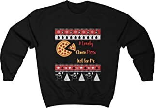 Zik Smart Solution A Lovely Cheese Pizza Just for Me Unisex Heavy Blend Crewneck Sweatshirt