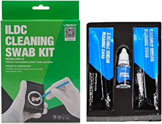 Micro Four Thirds 4/3 (MFT or M43) 12pcs Sensor Cleaning Swabs and 15ml Liquid Cleaner for Mirrorless (MILC) and ILDC Cameras – VSGO DDR12