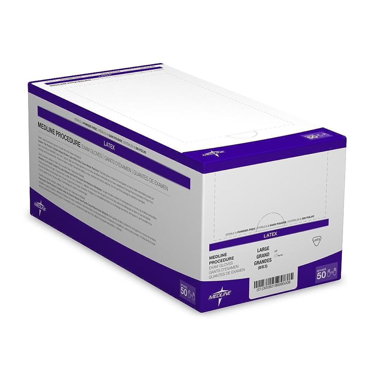 どのくらいの頻度でアルコールレディMedline MDS194036 Sterile Powder-Free Latex Exam Glove Pairs, 9 Length, Large, Beige (Pack of 200) by Medline