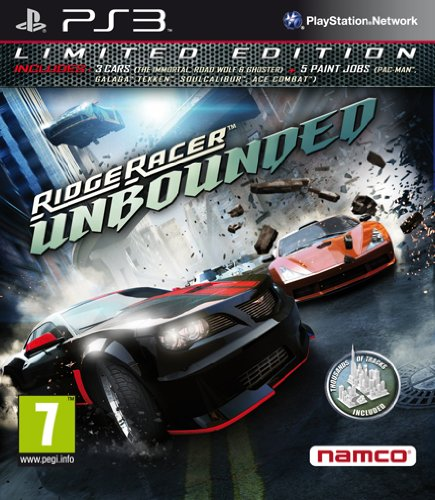 Ridge Racer Unbounded - Limited Edition (Day-one Edition) [Importación italiana]