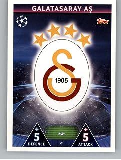 2018-19 Topps UEFA Champions League Match Attax #361 Club Badge Galatasaray S.K. Official Futbol Soccer Card