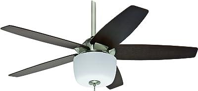 Hunter 20489 52-Inch Norway Ceiling Fan, Brushed Nickel