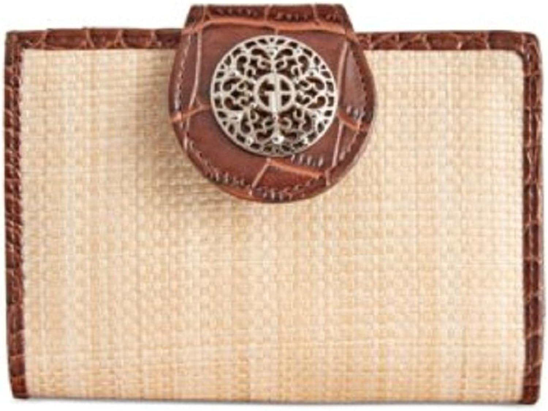 Giani Bernini Filigree Framed Wallet, Natural Brown