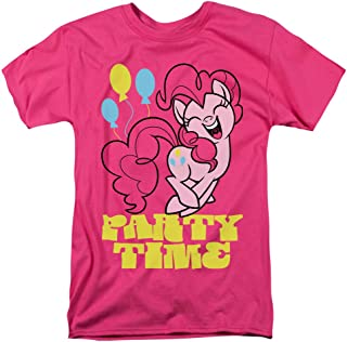 My Little Pony Party Time Unisex Adult T Shirt for Men and Women