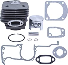 Haishine 52mm Cylinder Head Piston Gasket Engine Motor Kit for Husqvarna 268 272 272K 272XP Chainsaw Rebuild Set