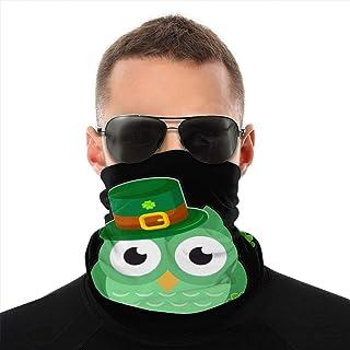 Nother St Patricks Day pyssling grön uggla vindpaus bandana halsduk tvättbar dammmask balaclava ansikte mun