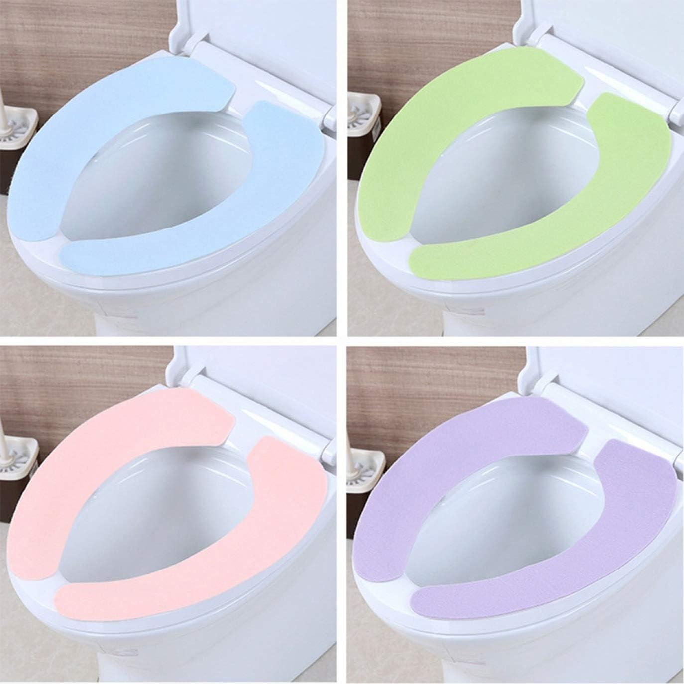 BL-S Werkzeug waschbar Matte Bezug Amelia Isaiah 1 Paar Badezimmer-Toilettensitz Stoff weiche W/ärme S