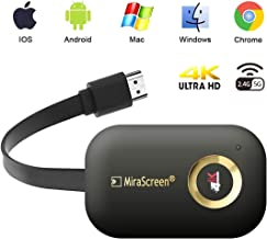 $30 » WiFi Display Dongle, VAlinks 5G/2.4G 4K Wireless HDMI Display Adapter Receiver for TV, Projector, Monitor, HDMI Devices, Support Miracast DLAN Airplay, Compatible with iOS/Android/Mac/Windows