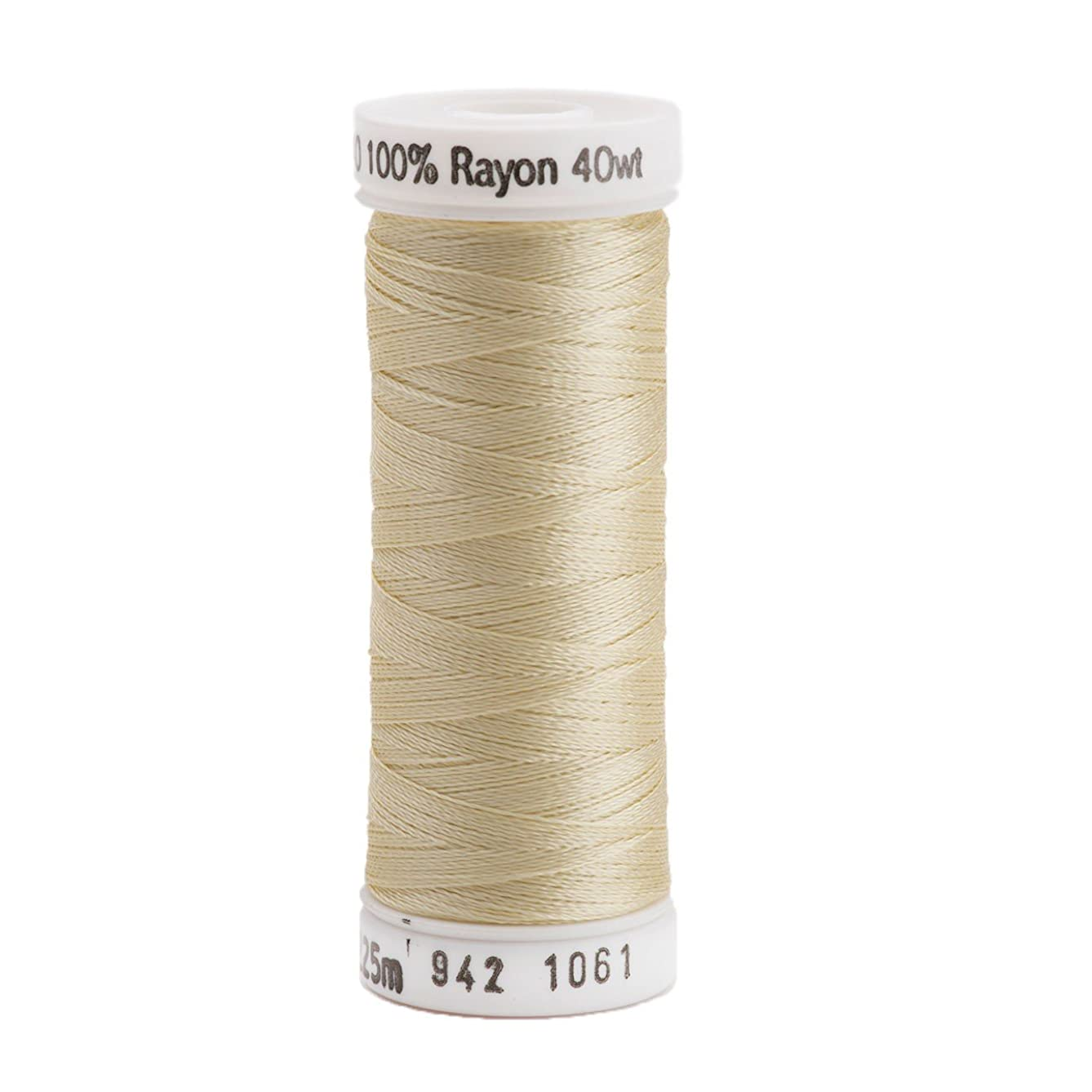 Sulky Rayon Thread for Sewing, 250-Yard, Pale Yellow