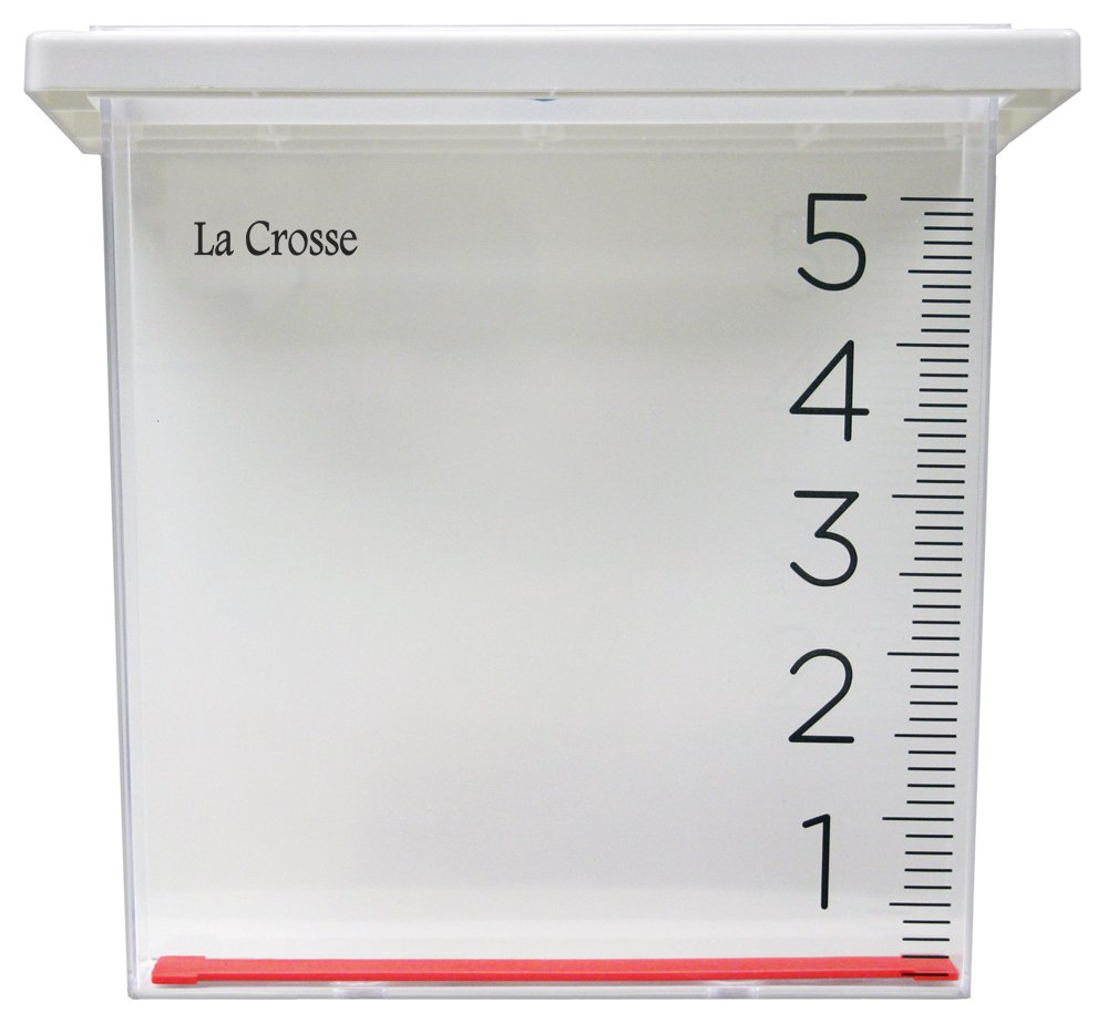 Crosse Technology Waterfall Rain Gauge