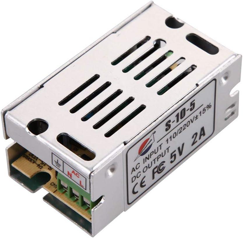 Un-brand Convertidor de fuente de alimentación conmutada AC 110, 220V 12V 1A 12W tira de luz LED cómoda y ambientalmente