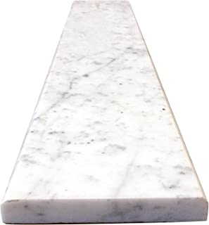 Best pure white marble threshold Reviews