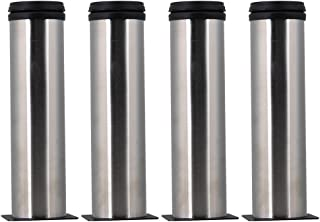 Aowish 4-pack Stainless Steel Furniture Legs