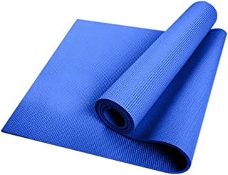 6MM Thick Yoga Mat Durable Non-Slip - Blue