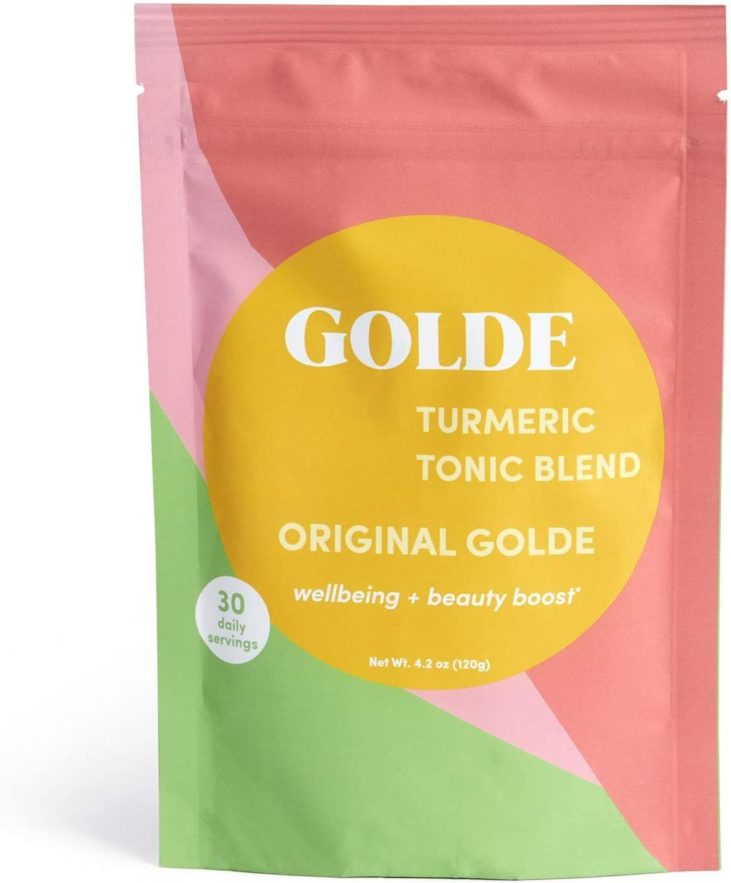 Original GOLDE Turmeric Tonic Blend Wellness Vegan San Antonio Mall Turmeri Ranking TOP20