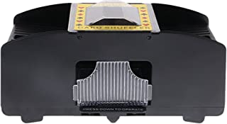 BAOBLADE Fun Casino 2-Decks Automatic Card Shuffler Shuffling Machine Poker Accessory