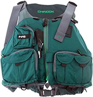 NRS Adult Outdoor Chinook Fishing Boating PFD XX-Large Safety Life Jacket Green