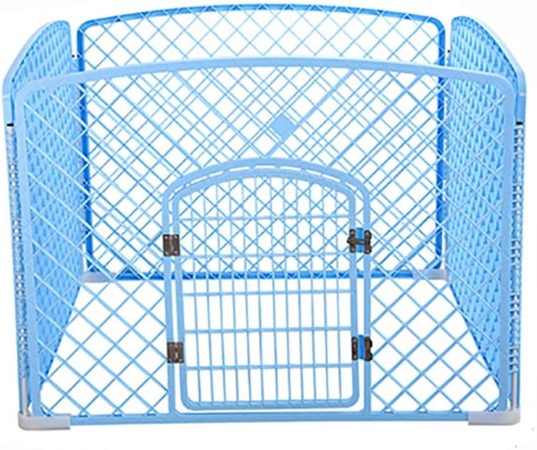 Pet fence Pet cage Pet indoor folding dog cage Pet folding fence dog fence Pet Indoor fence Household indoor Pet Isolation door Detachable (color   B)