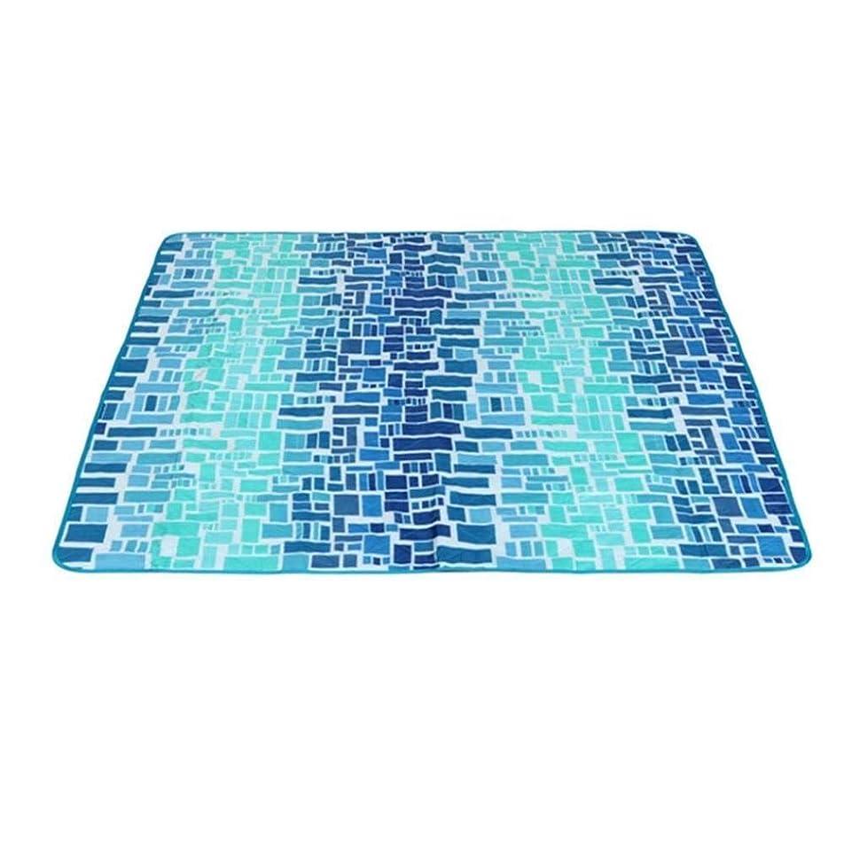 寄稿者収まるマイクロフォン肌にやさしい ピクニックマットビーチブランケット折りたたみビーチマット屋外のピクニックブランケット120×150センチメートル 通気性 (Color : I)
