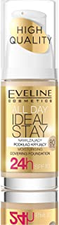 EVELINE - COVERAGE FOUNDATION ALL DAY IDEAL STAY NO. 80 PASTEL 30ML