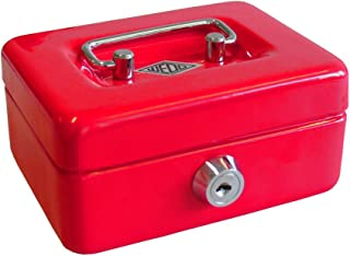 WEDO Caissette à monnaie pour enfants Rouge
