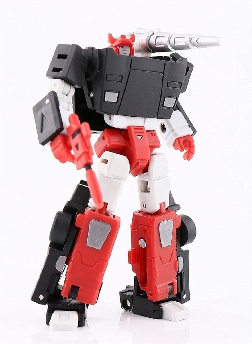 WJYLM Robot Transformer KO Transformers Tampa Mall Toy Horiz MS-B07B Max 70% OFF Black