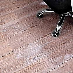 Sturdy Desk Chair Mat for Hardwood Floors