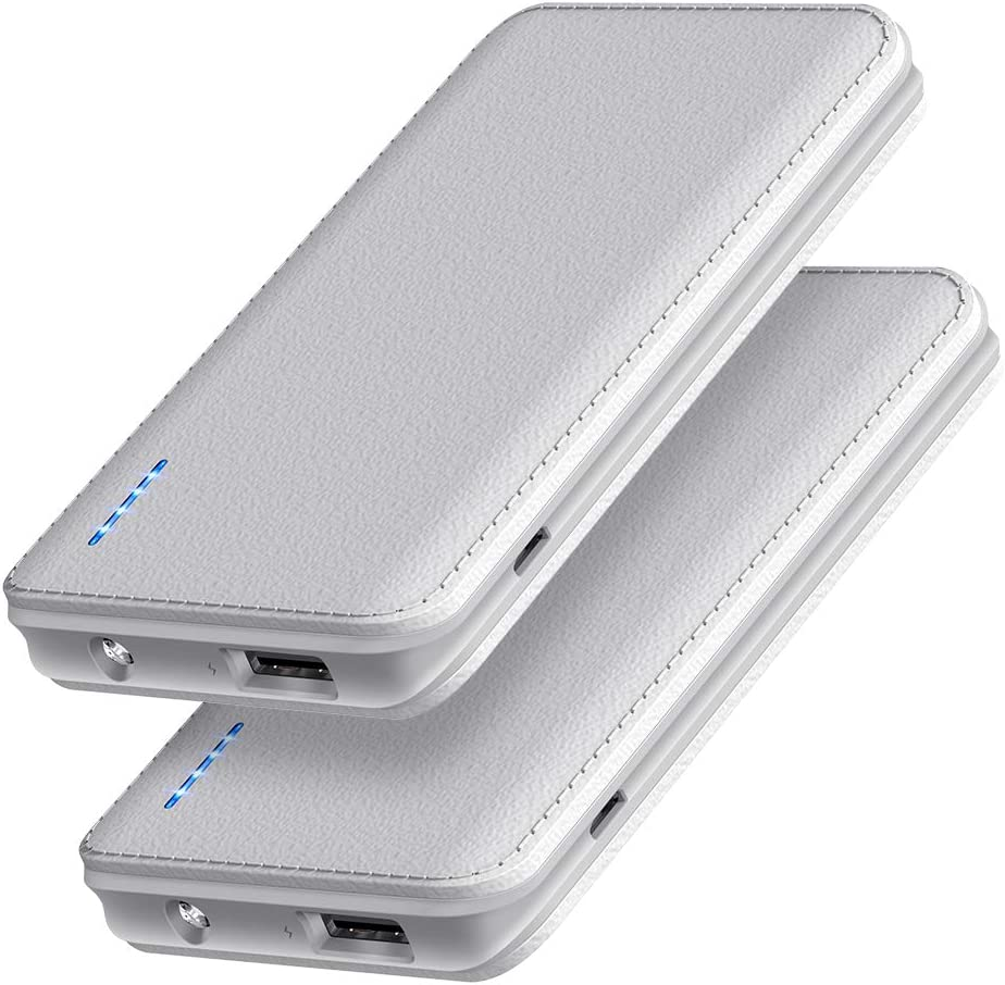 New Shipping Free Portable Charger Recommended JDB【2-Pack】 Ultra-Slim 5000m 5V 2.1A