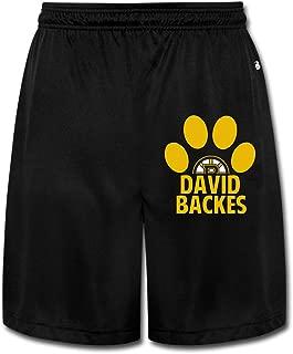 ZZYY Mens Soft DaBackes Bear Paw Short Pants Sports Black