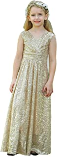 Bow Dream Little Girls Dress Dress for Girls Sequins Party Dress