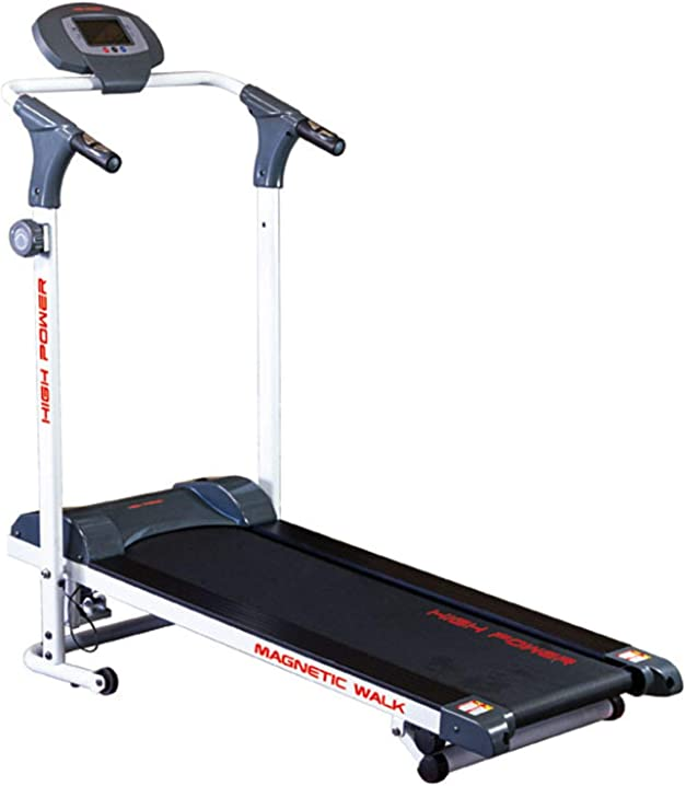 Tapis roulant magnetico per home-fitness, inclinazione manuale 3 livelli, nastro 35x105, magnetic walk B00AKGN31W