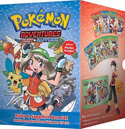 Pokemon Adventures Ruby & Sapphire 15-22