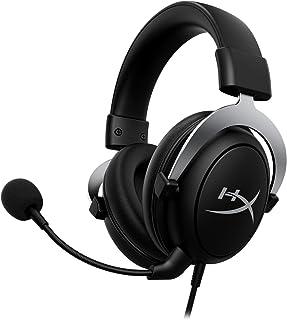 HyperX HHSC2-CG-SL/G CloudX - Audífonos para Gaming con Licencia Oficial Xbox, Micrófono Desmontable con Cancelación de Ruido, conector 3.5 mm