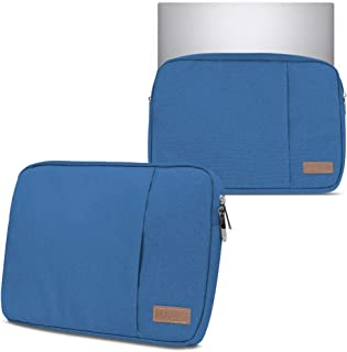 Hoes notebooktas compatibel met Lenovo Yoga 9i 15.6' in zwart blauw of grijs laptop beschermhoes case cover etui, kleur: b...