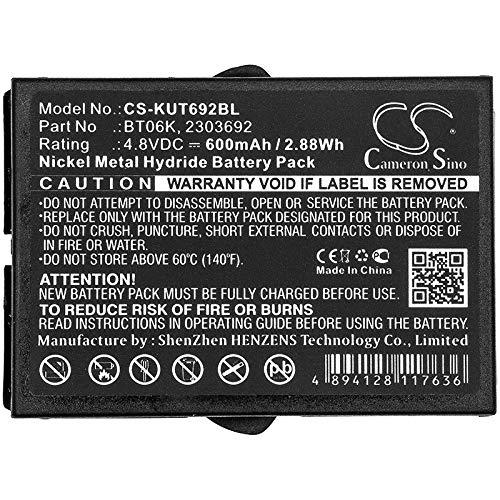 Bateria Para IKUSI 2303692 TM70 1 T71 RAD-TS ATEX transmitte