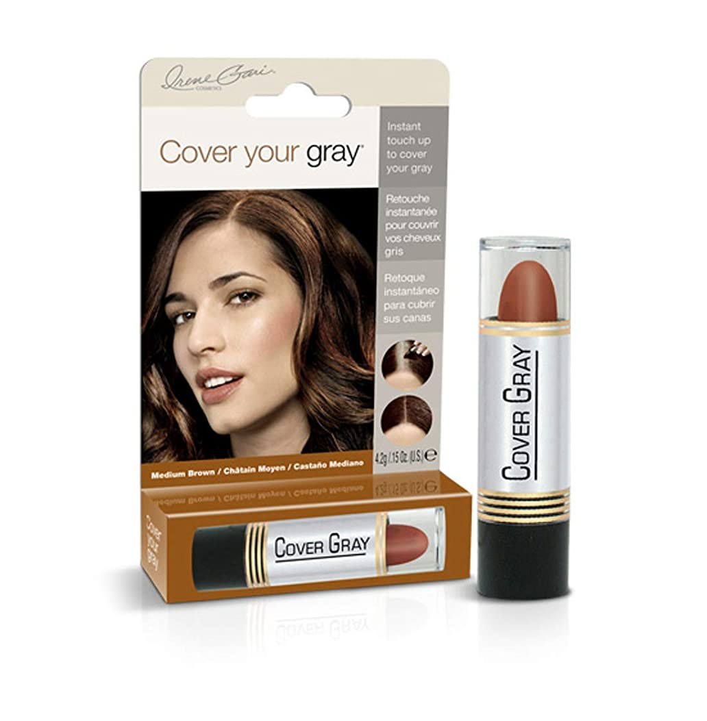 視聴者木材アジャCover Your Gray Stick Medium Brown 44 ml. (Pack of 6) (並行輸入品)