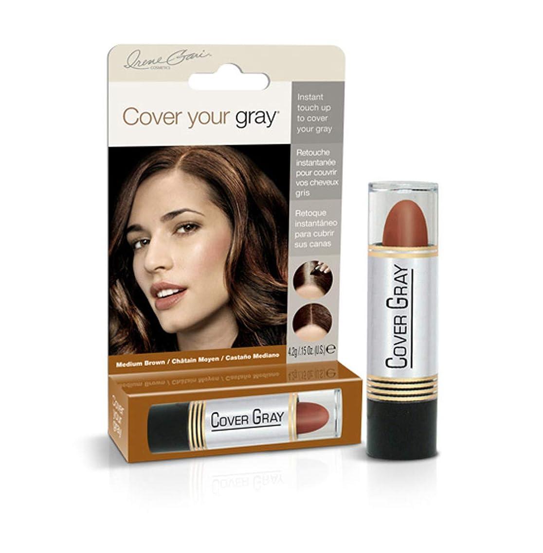 メタン失業インシデントCover Your Gray Stick Medium Brown 44 ml. (Pack of 6) (並行輸入品)