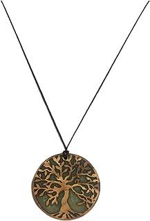 دي اس سي قلادة شجرة الحياة مصنوعة من شجرة الزيتون المعتق
