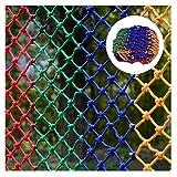 Red De Decoración De Jardín, Red De Seguridad Exterior Red De Protección Contra Caídas Infantil Adecuada for Barandilla De Balcón De Escalera Aislamiento De Mascotas Escalada Hamaca Red De Cuerda Tren