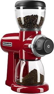 KitchenAid KCG0702ER Burr Coffee Grinder, Empire Red