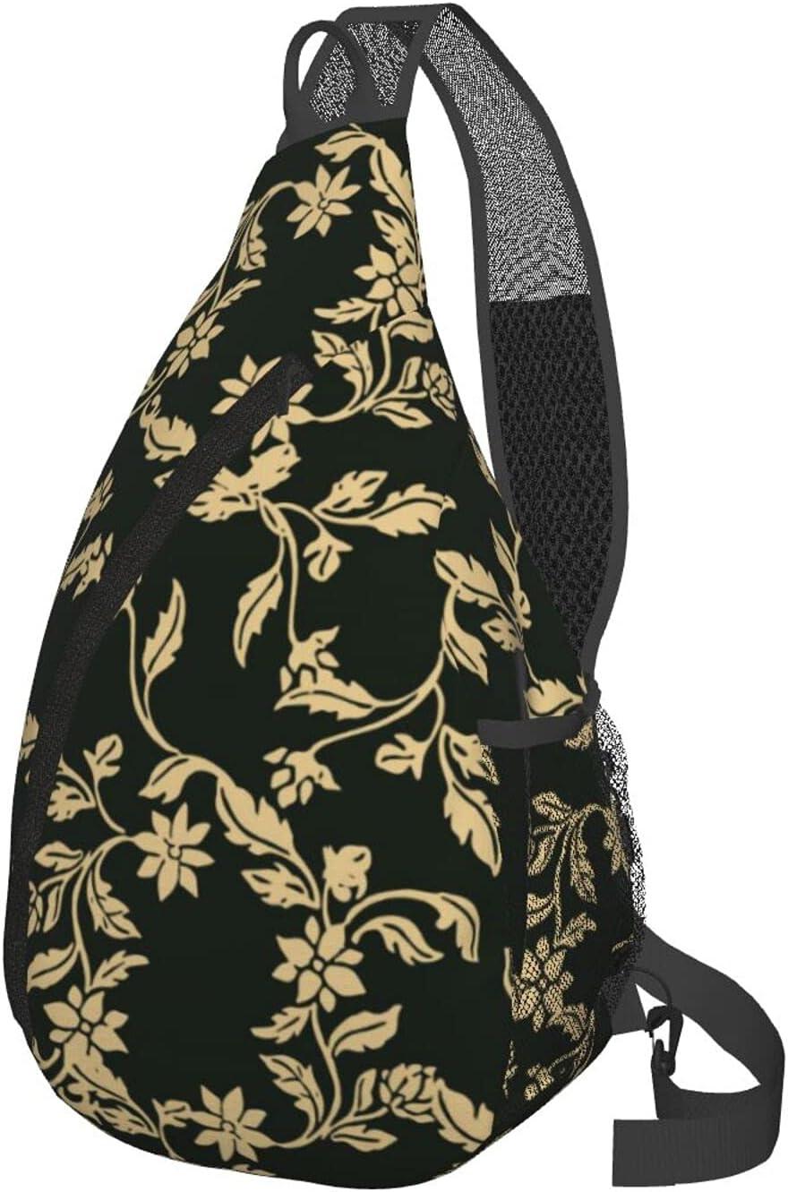 Selling and selling Floral Men'S Women'S Multipurpose Chest Sling Ba Bag Lightweight Cheap bargain