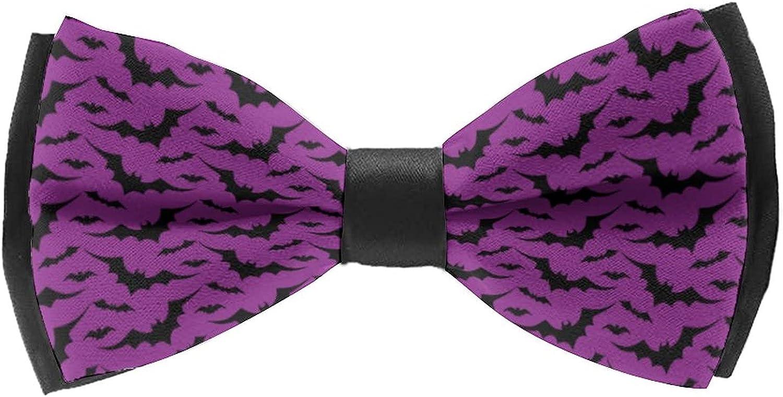 Men'S Self Bow Tie Ties Classic Cravat for Wedding Party