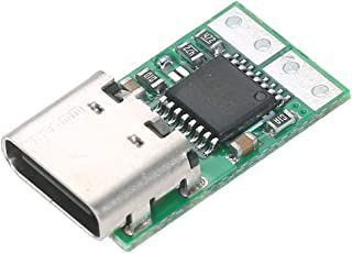 Jiatian USB-C PD2.0 / 3.0-DCコンバータ電源モジュールデコイ高速充電トリガーポーリングポーリング検出器テスターラップトップ電源をに変換 タイプC電源アダプター